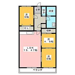 浜松アーバンライフ[2階]の間取り
