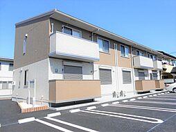 栃木県栃木市薗部町4の賃貸アパートの外観