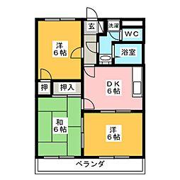 ストークハウス・アネックス[3階]の間取り