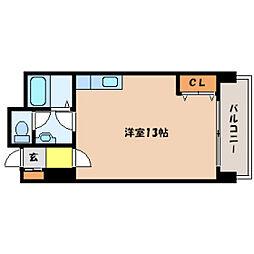北海道札幌市中央区南五条西7丁目の賃貸マンションの間取り