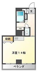 KFマンション[3階]の間取り