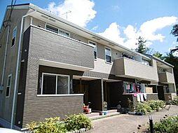 広島県東広島市高屋町郷の賃貸アパートの外観