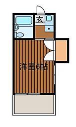 エンゼルハイデンス新百合ケ丘[3階]の間取り