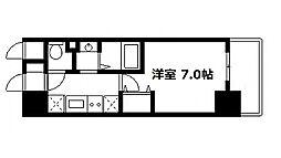 ジュネス高津公園[3階]の間取り