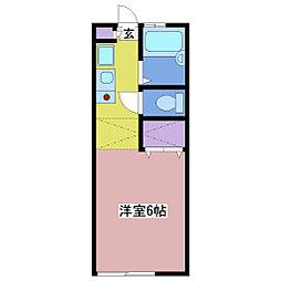 ルーラル[2階]の間取り