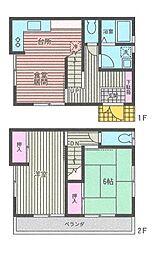 [テラスハウス] 神奈川県横浜市都筑区南山田3丁目 の賃貸【/】の間取り