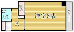 新丸子ダイカンプラザシティ[7階]の間取り