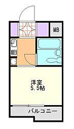 TOP与野NO1[206号室]の間取り