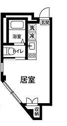 東京都練馬区石神井台7の賃貸マンションの間取り