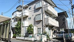 埼玉県草加市柳島町の賃貸マンションの外観