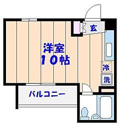 オネスティ船橋11番館[302号室]の間取り