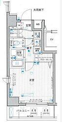 東京都港区海岸2丁目の賃貸マンションの間取り