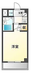 津田沼ダイカンプラザ[4階]の間取り