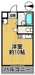 エール8[202号室]の間取り