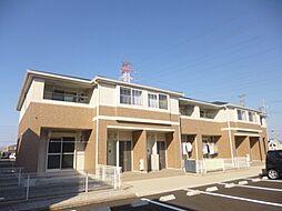 三重県三重郡川越町大字当新田の賃貸アパートの外観