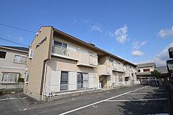 兵庫県姫路市網干区津市場の賃貸アパートの外観