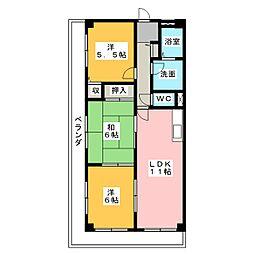 メゾンMA[3階]の間取り