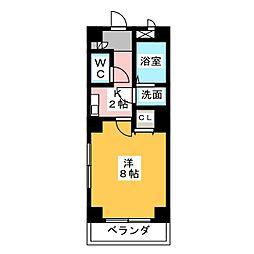 第二福谷ビル[1階]の間取り
