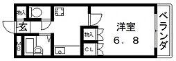 サンモール[420号室号室]の間取り