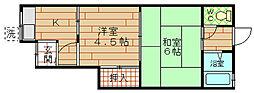 大鹿住宅[1階]の間取り