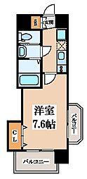 Luxe玉造I[2階]の間取り