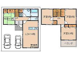 近鉄京都線 向島駅 徒歩15分の賃貸一戸建て