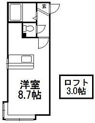 コーポJUN[105号室]の間取り