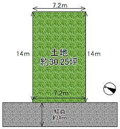 三重県伊賀市猪田字木瓜谷 売土地