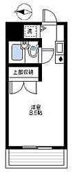 パーク・ノヴァ横浜阪東橋南[2階]の間取り