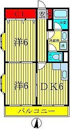 斉藤マンション[3階]の間取り