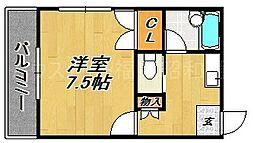 ミツミマンション今川[2階]の間取り
