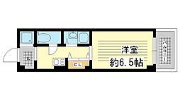兵庫県神戸市須磨区妙法寺ぬめり石1丁目の賃貸マンションの間取り