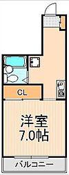 エクセル東綾瀬[4階]の間取り
