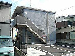 広島県三原市西野1丁目の賃貸アパートの外観