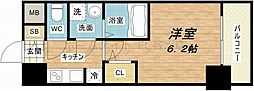 S-RESIDENCE南堀江[3階]の間取り