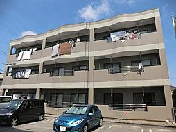愛知県安城市二本木町荒田の賃貸マンションの外観