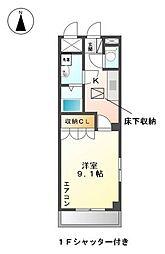 コンフォース ハイム[1階]の間取り