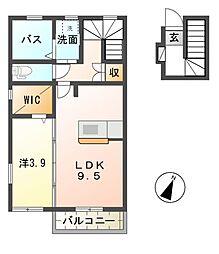 セプター[2階]の間取り