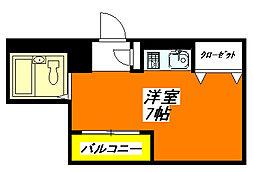 イースト・コトブキ 603号室[6階]の間取り