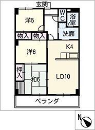 メゾン光洋白子駅前 502号室[5階]の間取り