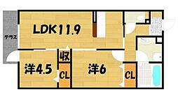 仮称)Droom赤井2丁目[1階]の間取り
