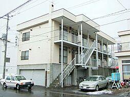 北海道札幌市東区北二十三条東15丁目の賃貸アパートの外観