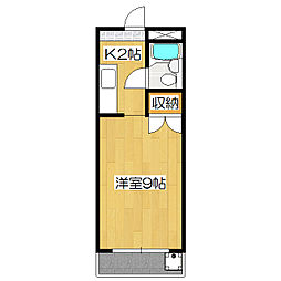 エスティー21[3階]の間取り