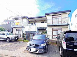 東京都東大和市蔵敷3丁目の賃貸アパートの外観