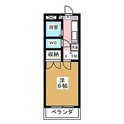 シャトーシェルブールマンション[1階]の間取り