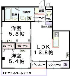 SEISENマンション[1階]の間取り