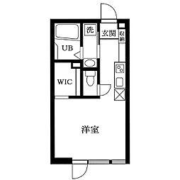 チャーリーズハウス港南中央[103号室]の間取り
