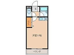 ハイツ21[2階]の間取り