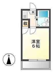 Hills Motoyama(ヒルズモトヤマ)[1階]の間取り