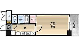 エステムコート新大阪6エキスプレイス[5階]の間取り
